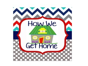 Dual Language-How We Get Home Clip Chart