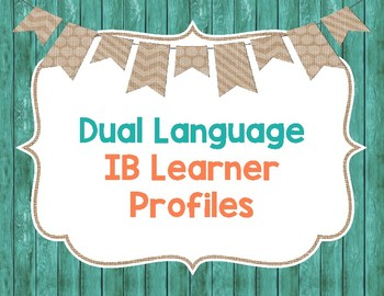 Dual Language IB Learner Profiles