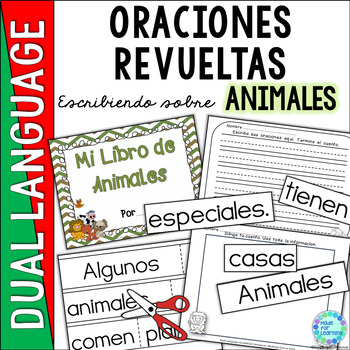 Spanish Scrambled Sentences for Dual Language/Bilingual: