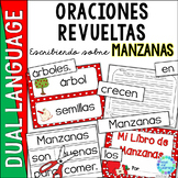 Spanish Scrambled Sentences MANZANAS Apples