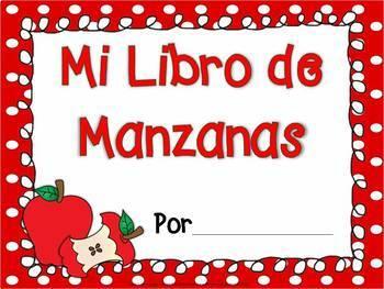 Spanish Scrambled Sentences MANZANAS Apples
