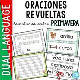 Spanish Scrambled Sentences for Dual Language Bilingual PRIMAVERA (Spring)