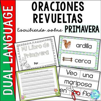 Spanish Scrambled Sentences PRIMAVERA Spring