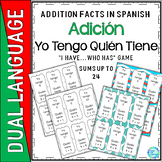 I Have Who Has Addition Game Spanish