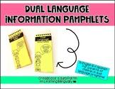 Dual Language Information Brochure for Parents