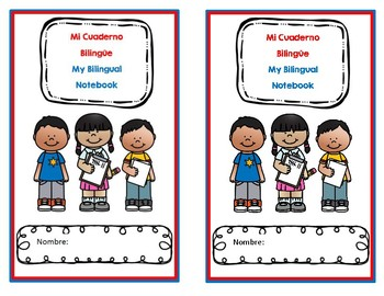 Dual Language Journal Cover
