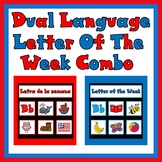 Dual Language Letter of the Week Combo