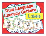 Dual Language Literacy Centers Labels
