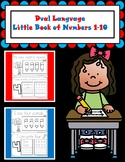Dual Language Little Book of Numbers Combo