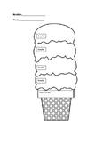 Dual Language Main Idea ice cream cone