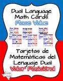 Dual Language Math Cards - Place Value Unit