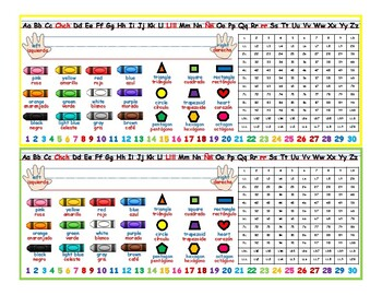 Dual Language Name Plates in English & Spanish - 1st grade