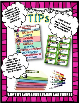 Dual Language Notebook and Folder Labels