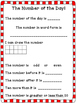 Dual Language Number of the Day English and Spanish