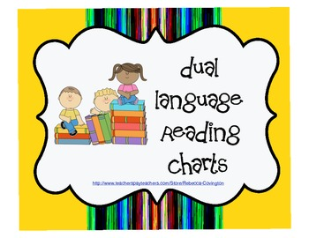 Dual Language Reading Charts