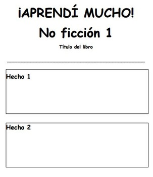 Dual Language Reading Response Pages