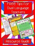 Dual Language Resource E-book