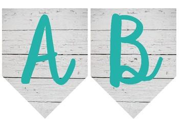 Dual Language Rustic Alphabet