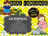 Dual Language-Science - Animals Unit - spanish