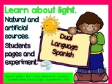 Dual Language - Science - Sources of light - Spanish