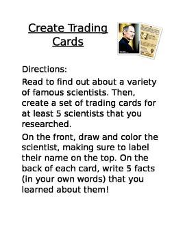 Dual Language - Scientist Trading Cards BIL