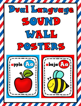 Dual Language Sound Wall Posters