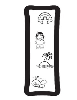 Dual Language:  Spanish Beginning Sound ABC Print and Coloring Pages