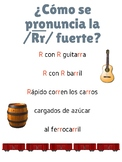 Dual Language Spanish - Rolled /Rr/ Sound Chant Poster - Sonido Rr fuerte
