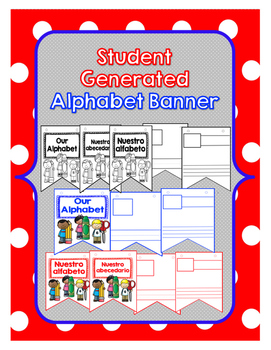 Dual Language Student Generated Alphabet Banner
