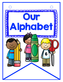 Dual Language Student Generated Alphabet Banner