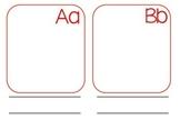 Dual Language Student Generated Alphabet-Spanish
