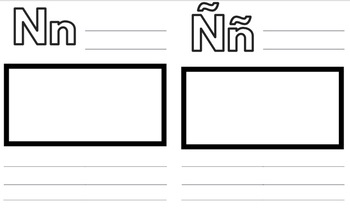 Dual Language Student Generated Alphabet Template By Tpt