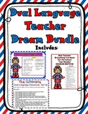 Dual Language Teacher Dream Mega Bundle