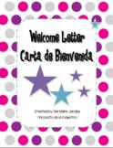 Dual Language Welcome Letter / Carta de Bienvenida