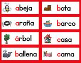 Dual Language Word Wall BOTH ENGLISH AND SPANISH Vocabulary Set 3