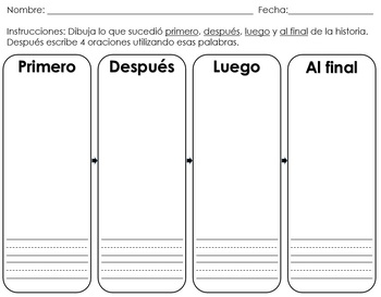 dual language writing templates english spanish by. Black Bedroom Furniture Sets. Home Design Ideas