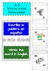 Dual language Posters, Cognates, Abc in Spanish, Alphabet,