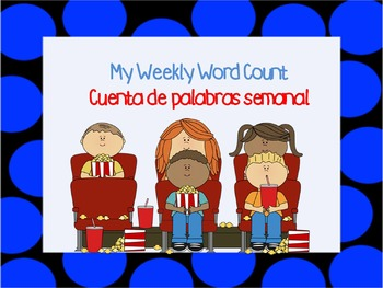 Dual language weekly word count