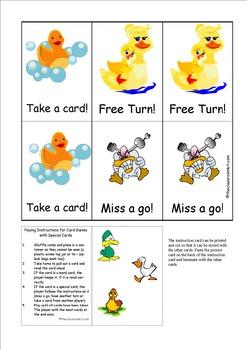 Duck Blends Card Game