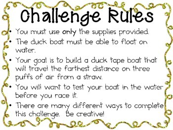 Duck Boat Racers: Engineering Challenge Project ~ STEM Activity!