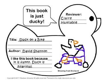 Duck Book Report