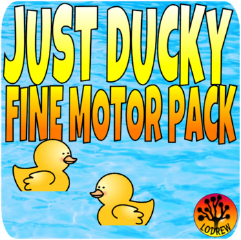 Duck Centers Bundle Math Literacy Fine Motor Patterns Addition Spring Activities