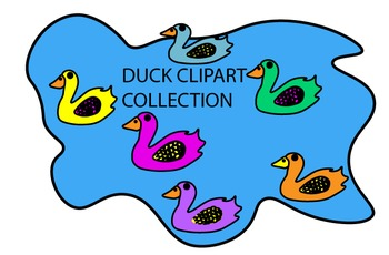 CLIPART- Duck Collection