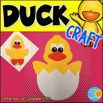Duck Craft for Spring