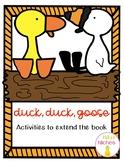 Duck, Duck, Goose: Activities to Extend the Book