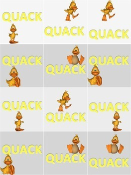 Duck, Duck, Sight Word! All three sets!