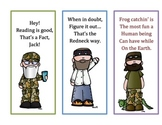 Duck Dynasty Bookmarks