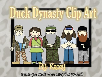 Duck Dynasty Clip Art