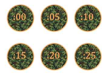 Duck Dynasty Clock Numbers