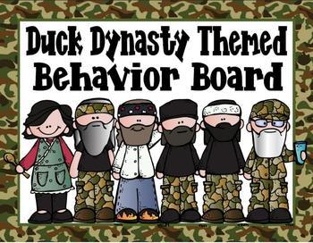 Duck Dynasty Inspired Classroom Decor Set